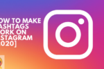 How to make Hashtags work on Instagram